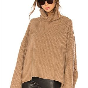 NWOT Forever 21 Fuzzy Turtleneck Sweater
